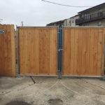 Dumpster Gates And Enclosure
